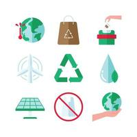 Earth Day Icon Set
