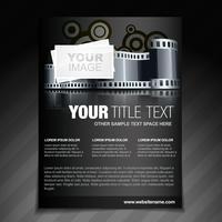Flyer zum Thema Fotografie und Flyer vektor