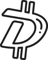Liniensymbol für Digibyte
