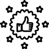 linje ikon för original