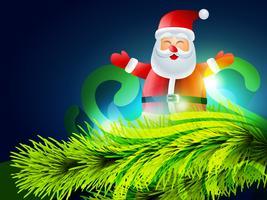 Weihnachtsmann-Illustration