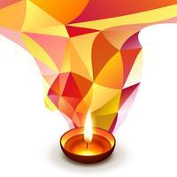 Diwali wünscht Design vektor