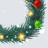 Frohe Weihnachten Design vektor