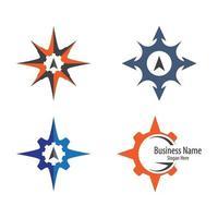 Kompass-Logo-Bilder vektor
