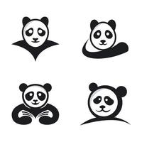 panda logotyp bilder illustration