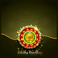 Raksha Bandhan Festival Design vektor