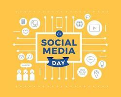 Social Media Tag vektor