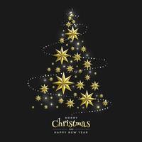 jul och gott nytt år vektor