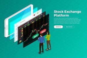 Börsen vektor