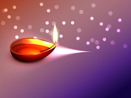 traditionelles Diwali-Design vektor
