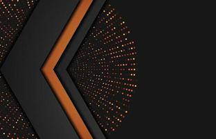 modern bakgrund med glittereffekt. abstrakt realistisk papercut bakgrund. abstrakt geometrisk bakgrund. vektor 3d illustration. vektorillustration eps 10