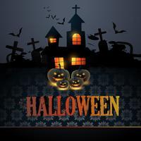 Halloween-Vektor-Illustration vektor