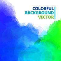 bakgrund av multi färg bläck stänk vektor