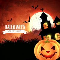 glückliches Halloween-Design