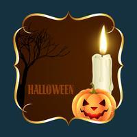 Halloween-Hintergrunddesign vektor