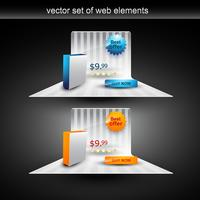 produktdisplay vektor