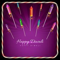 Stilvoller Hintergrund von Diwali