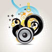högtalare abstrakt