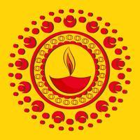 künstlerischer hintergrund von diwali