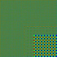 rgb skärmnät. abstrakt skiktad bakgrund vektor