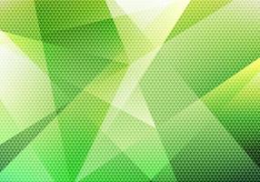 abstrakt modern bakgrund grön låg polygon med triangel mönster textur. vektor