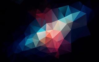 abstrakter Polygontexturhintergrund vektor