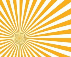 Sonne Sunburst Muster vektor