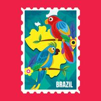 Brasilien vykort 2
