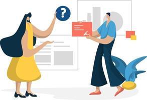 Verwaltung Management Planung Online-Business-Marketing-Konzept vektor