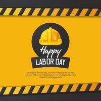 Happy Labour Day Design vektor