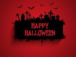 Halloween bakgrund vektor