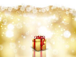 Julklapp bakgrund vektor