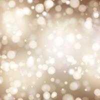Weihnachtshintergrund mit Bokeh Leuchten vektor