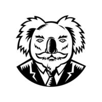 Koala im Business-Anzug vektor