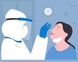 covid 19 nasal pinnprov platt illustration.