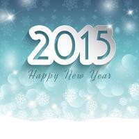 Guten Rutsch ins Neue Jahr-Hintergrund auf Schneeflockenhintergrund