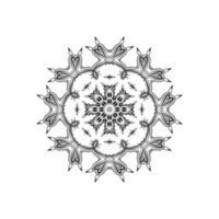 fantastisk mandala design vacker bakgrund vektor