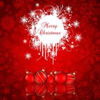 Grunge Weihnachten Hintergrund
