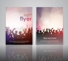 Party Flyer Design vektor