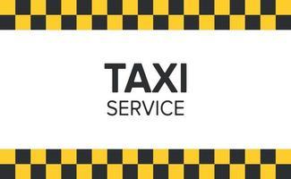 abstrakter Hintergrund im Stil eines Taxi - Vektors vektor