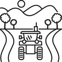linje ikon för jordbruk