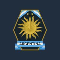 Argentinien WM Fußball-Abzeichen