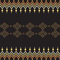 etniska sömlösa mönster aztec tribal konst tyg tryck, hem dekoration, tapeter, tyg. vektor