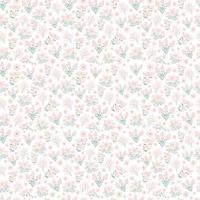 niedliches Blumenmuster in der kleinen Blume. nahtlose Vektor Textur. elegante Vorlage für Modedrucke. Druck mit kleinen rosa Blüten. Frühlingsblumen, Sommerblumen.