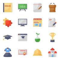 Bildung und Schreibwaren vektor