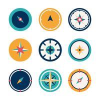 Kompass Vector Illustration