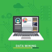 Data Mining-Illustration vektor