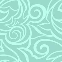 Vektorbeschaffenheit der türkisfarbenen Farbe lokalisiert auf Meereshintergrund. Blumenmuster für Stoffe oder Verpackungen.
