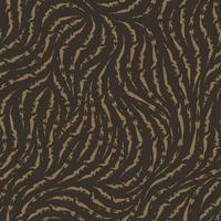 vektor sömlös konsistens. mönster av heterogena trasiga linjer av beige färg isolerad på brun bakgrund.