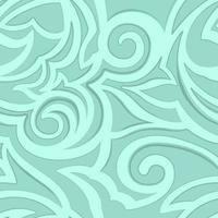 vektor konsistens av turkos färg isolerad på havet bakgrund. blommönster för tyger eller förpackningar.